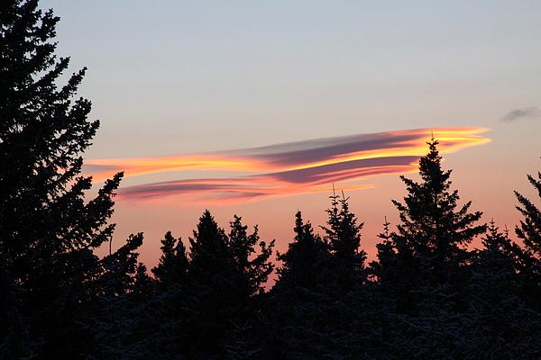 Lori Mahaffey - UFO Sunset