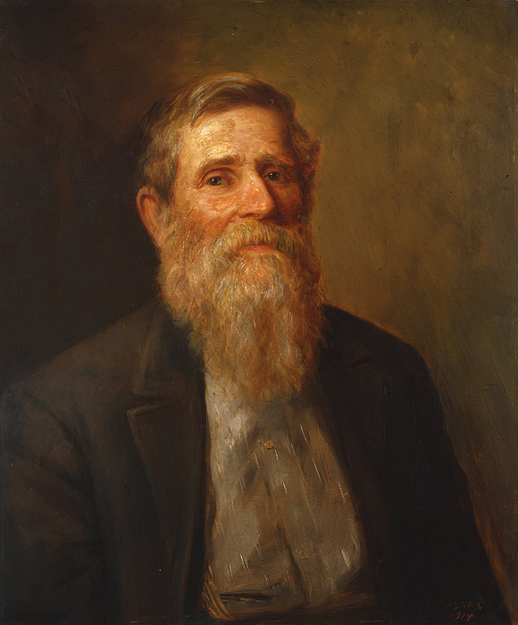 Uncle Isaac James Ross Print by Lewis A Ramsey