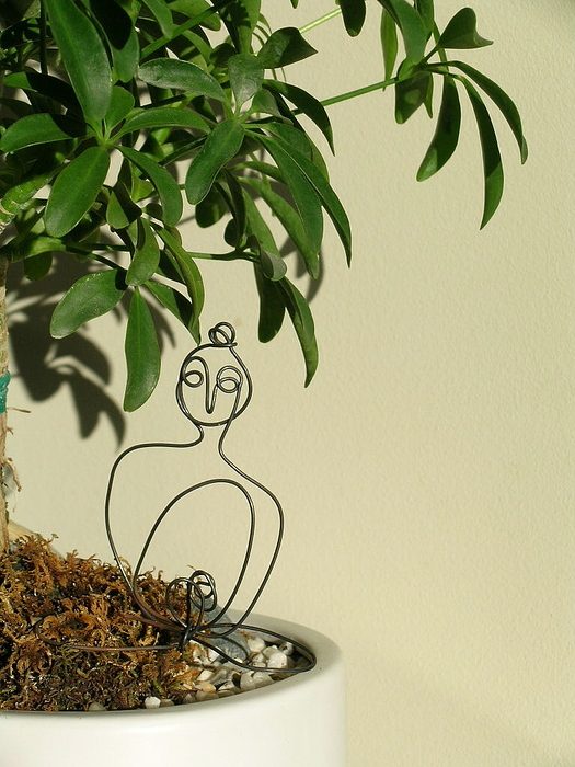 Under The Bodhi Tree Print by Live Wire Spirit
