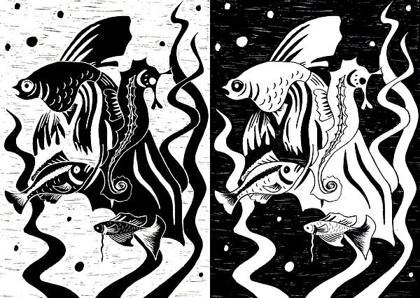 Underwater Fish Print by Svetlana Sewell
