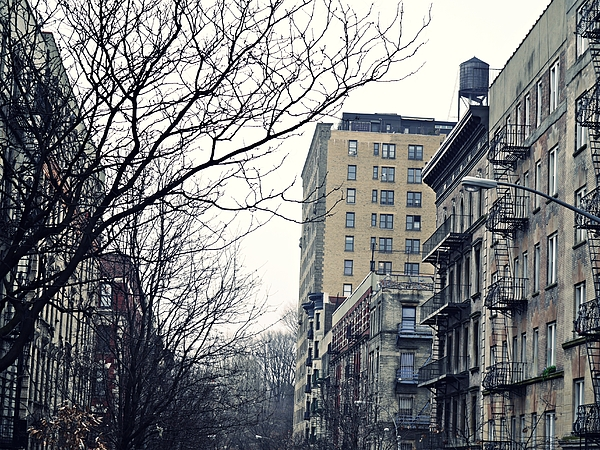 Upper West Side Winter Print by Sarah Loft