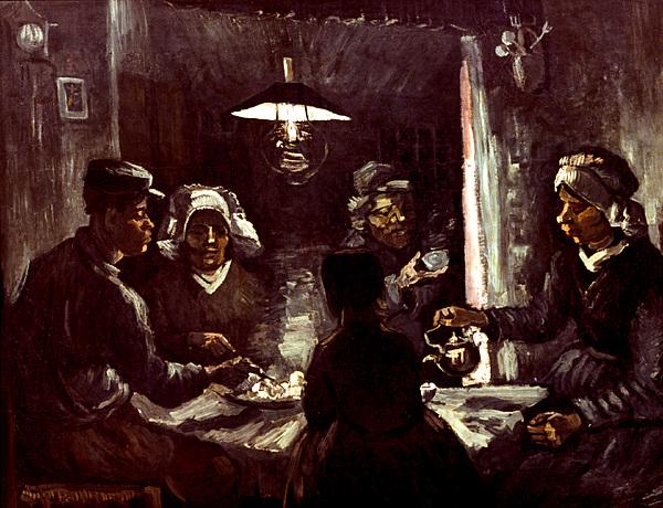 Van Gogh: Meal, 1885 Print by Granger