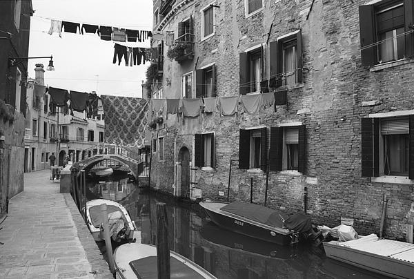 Venice Print by Frank Tschakert