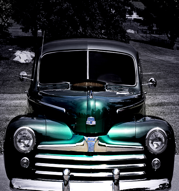 Vintage 1948 Ford By Steven Digman