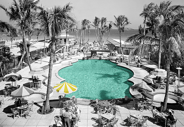 Vintage Miami Print by Andrew Fare