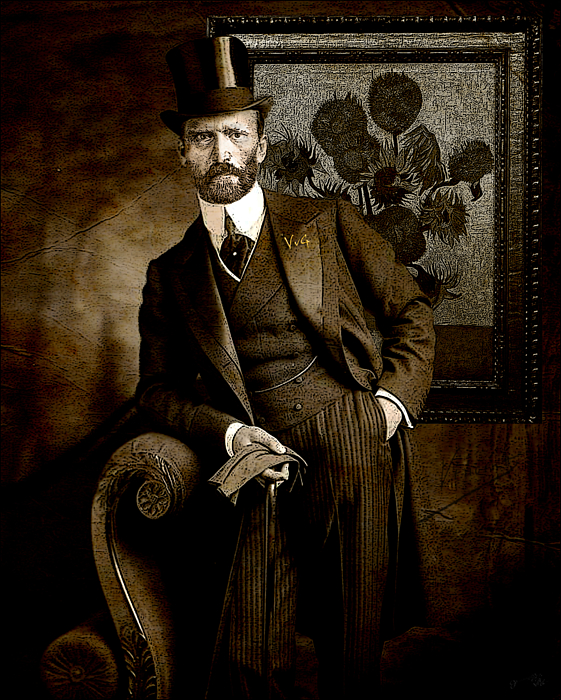 Jose A Gonzalez Jr - Vintage Photograph of Vincent van Gogh - taken 13 years after his death