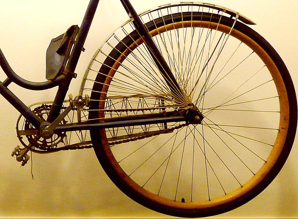 Vintage Remington Bike Print by Lori Seaman