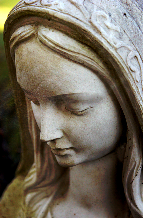 Virgin Mary Print by Off The Beaten Path Photography - Andrew Alexander