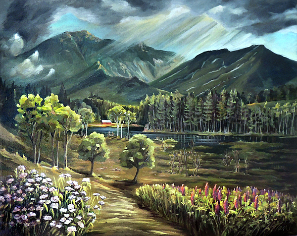 Nancy Griswold - Vista View of Cannon Mountain