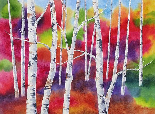 Vivid Autumn Print by Deborah Ronglien
