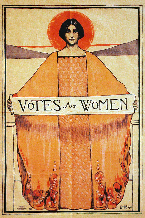 Votes For Women, 1911 Print by Granger