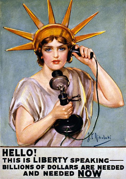 War Poster, C1918 Print by Granger