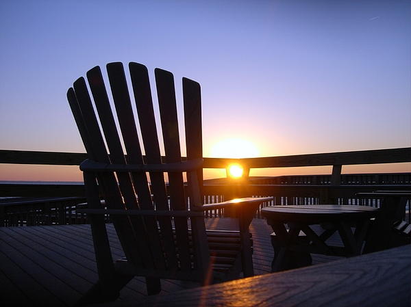 Terrie Stickle - Watching the Sunset in Cape May