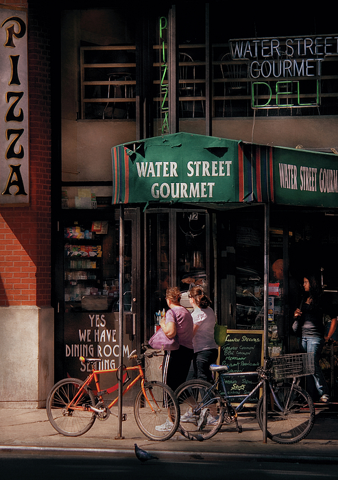 Water St Gourmet Deli  Print by Mike Savad