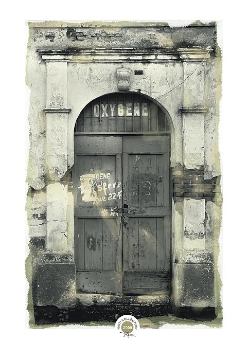 Bob Salo - Waterfront Doorway Cap Haitian
