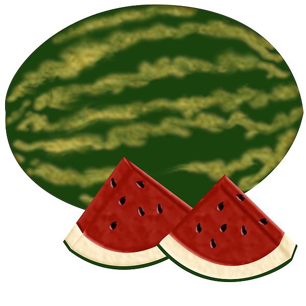 Watermelon Time Print by Melissa Stinson-Borg