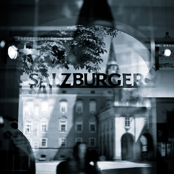 Welcome To Salzburg Print by Dave Bowman