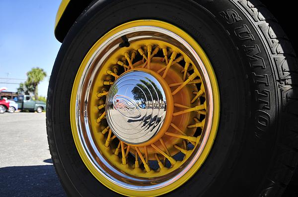 Wheel Nice Print by David Lee Thompson