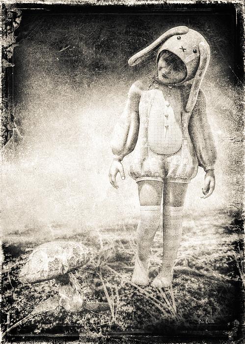 White Rabbit Print by Bob Orsillo