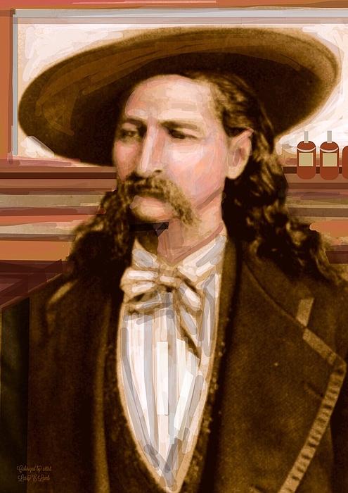 Wild Bill Hickok Print by Larry Lamb