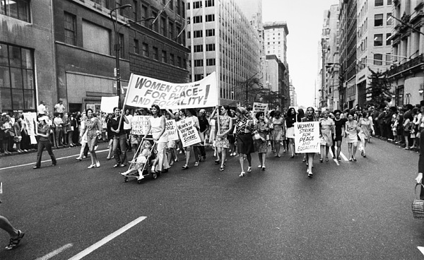 Womens Rights, 1970 Print by Granger