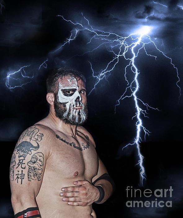 Jim Fitzpatrick - Pro Wrestling Star Joe Graves