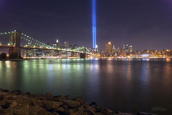 World Trade Center Memorial Print by Shane Psaltis