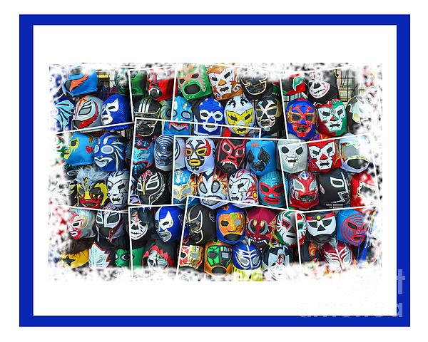 Jim Fitzpatrick - Wrestling Masks of Lucha Libre Altered III