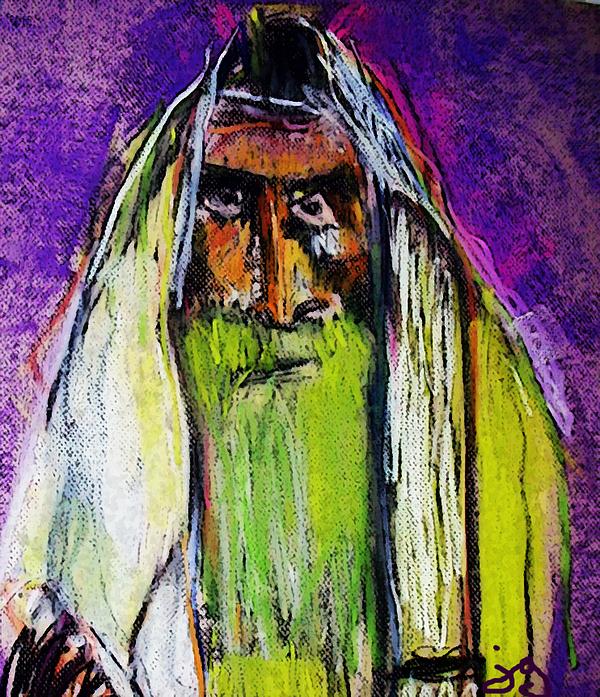 Yakov Print by Joyce Goldin