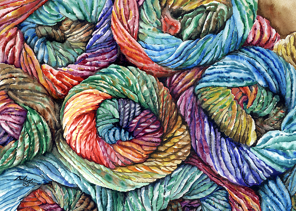 Yarn Print by Nadi Spencer