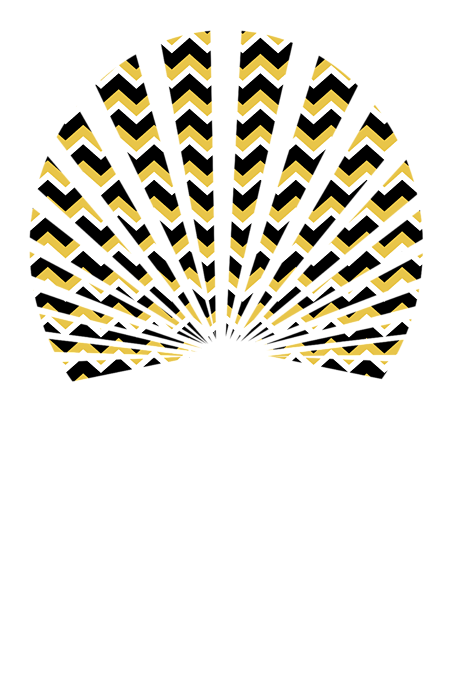 yellow black chevron adult v neck for sale by christina rollo. Black Bedroom Furniture Sets. Home Design Ideas