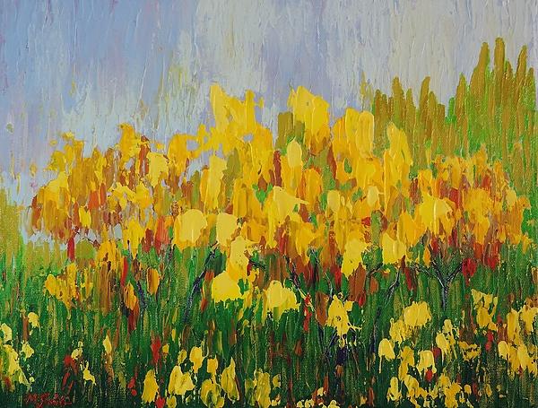 Margaret Bobb - Yellow Brush
