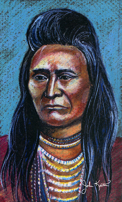 Young Indian Print by John Keaton