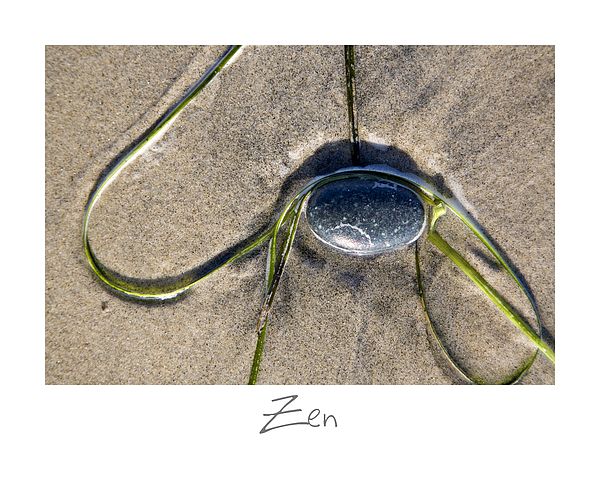 Zen Print by Peter Tellone