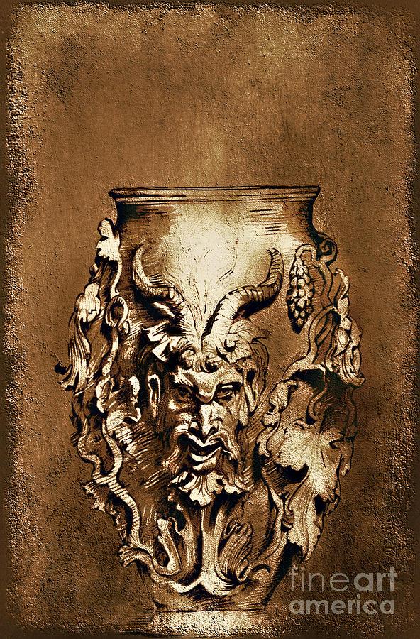 Rubens Painting -  Dionysus.... by Andrzej Szczerski