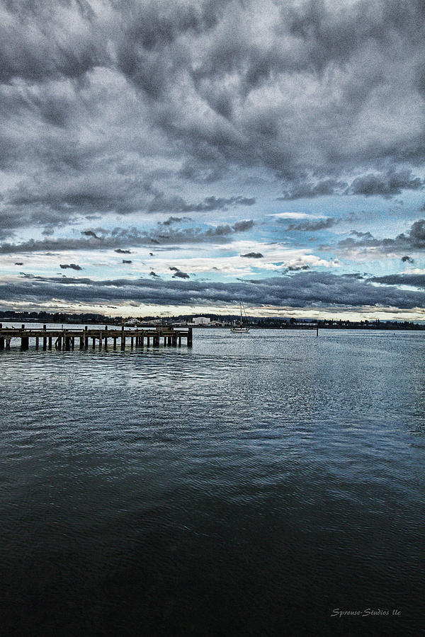 Bay Photograph -  Dock In The Bay by DMSprouse Art