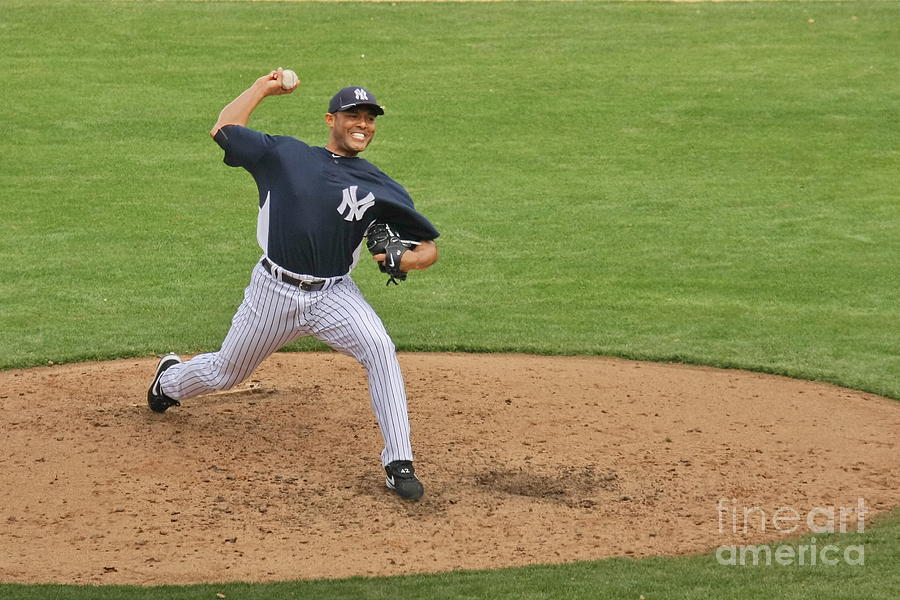 Sport Photograph -  Mariano Rivera by Tom Cheatham