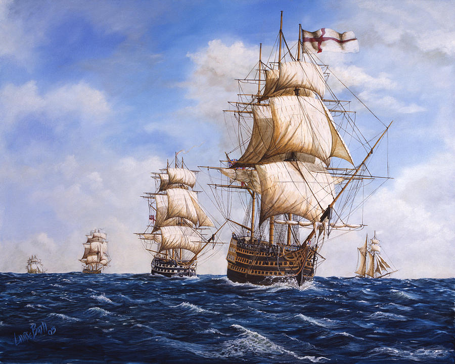 an analysis of the sea battle at trafalgar East india company: battle of trafalgar recreates the legendary sea battle fought between the british royal navy and the combined fleets of the french and spanish navies during the height of.