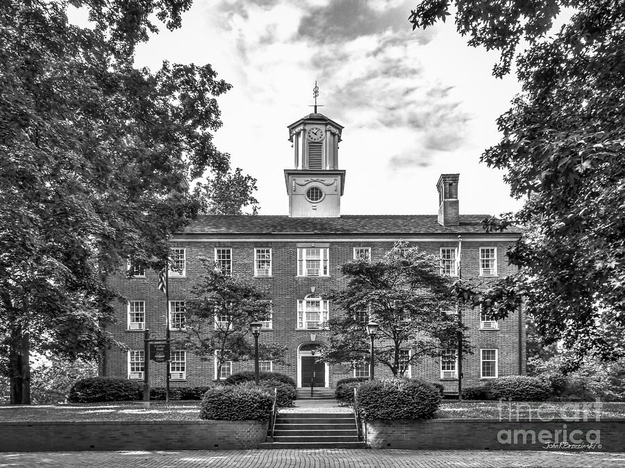 Athens Photograph -  Ohio University Cutler Hall by University Icons