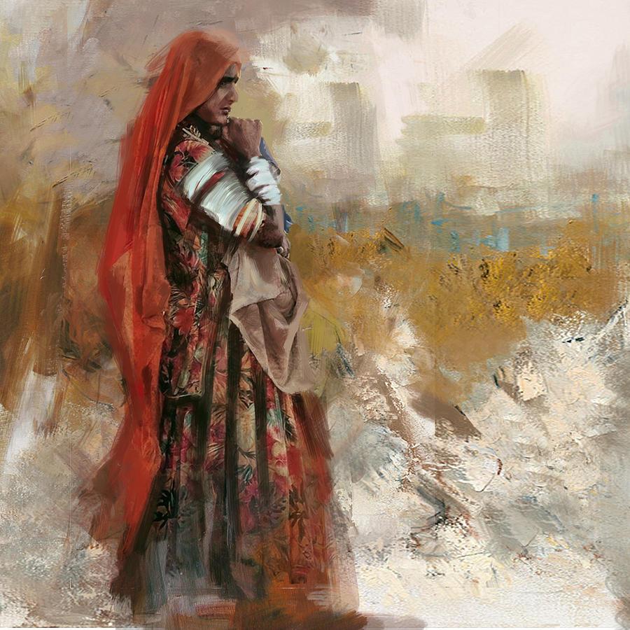 007 Sindh Painting By Mahnoor Shah