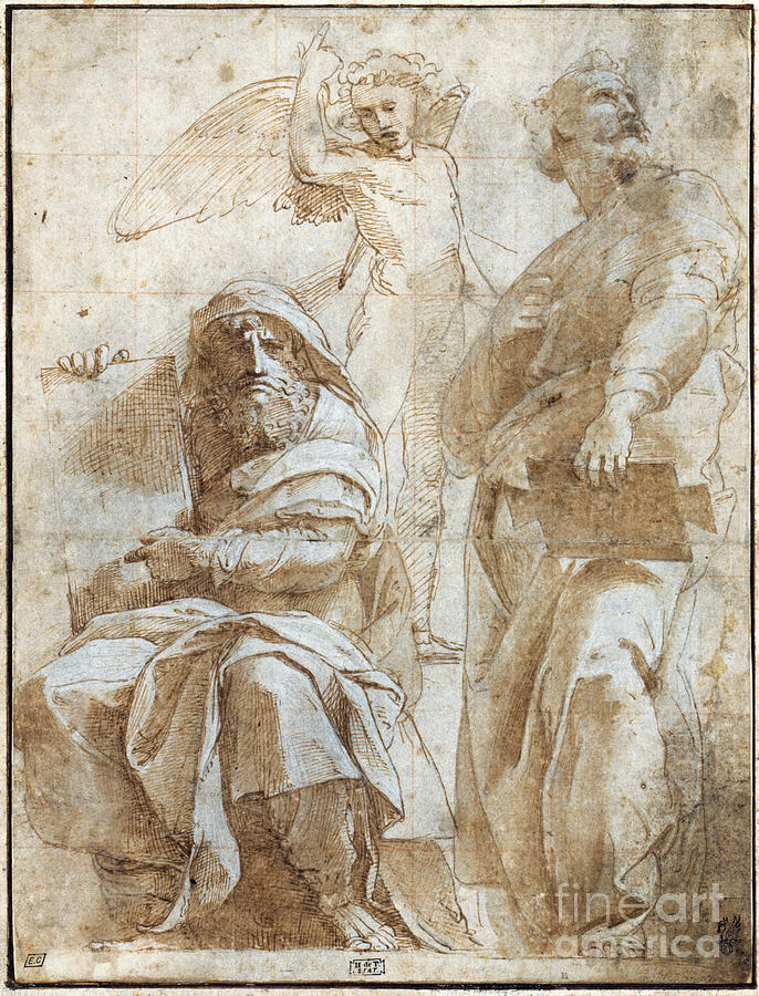 Raphael: Study, C1510 Painting