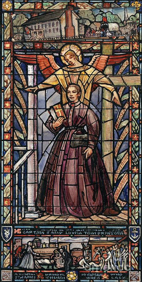 Sally Tompkins (1833-1916) Painting