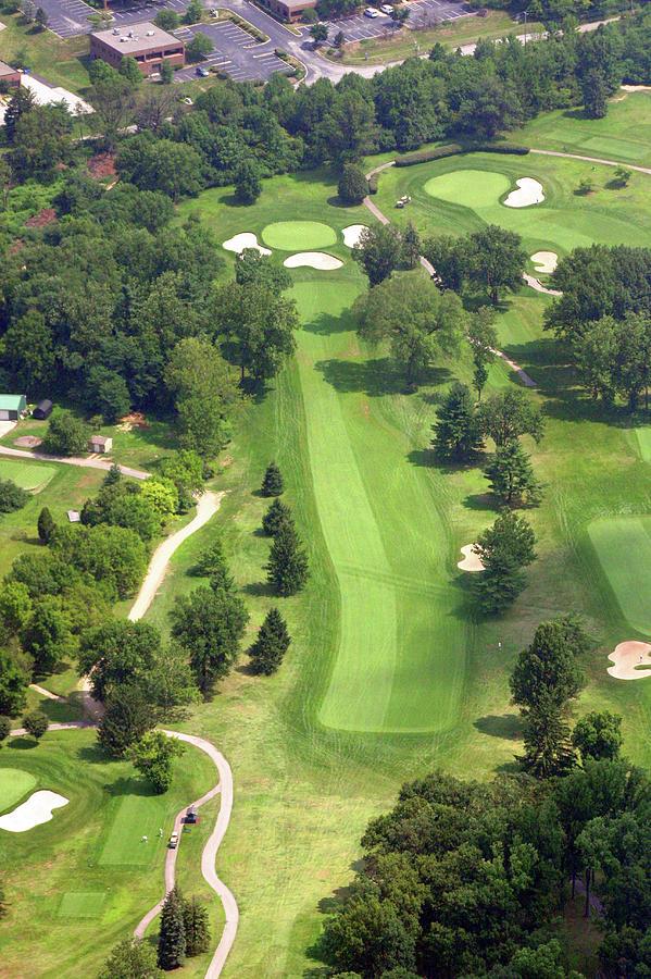 Sunnybrook Photograph - 16th Hole Sunnybrook Golf Club by Duncan Pearson