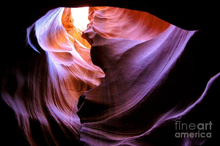 Antelope Slot Canyons Photograph