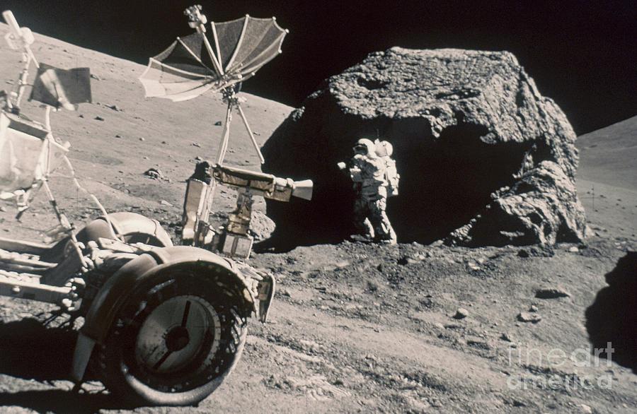 Apollo 17, December 1972: Photograph