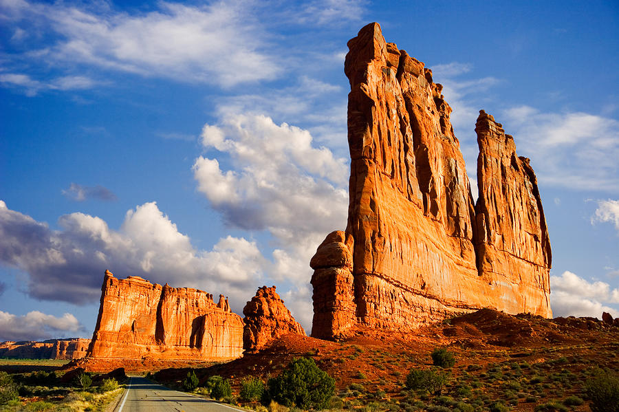 Arches Photograph - Arches National Park Utah by Utah Images