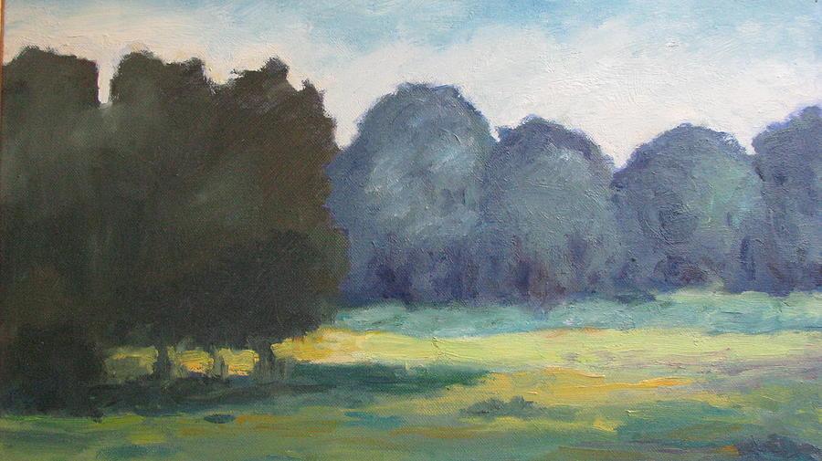 Landscape Painting - Arkansas Meadow by Sharon Franke