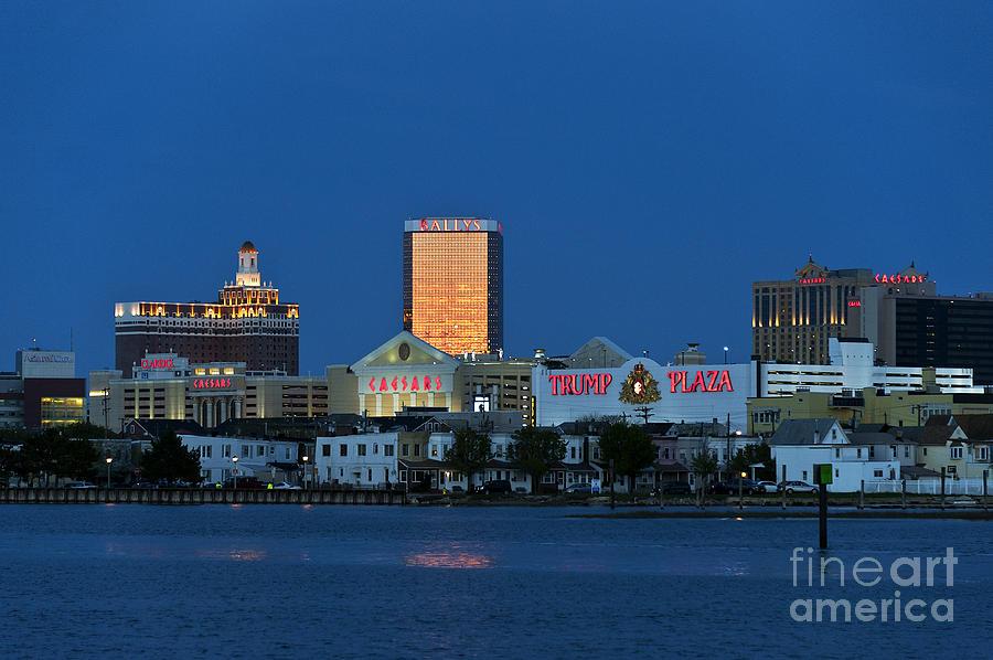 Atlantic City Photograph - Atlantic City Skyline by John Greim