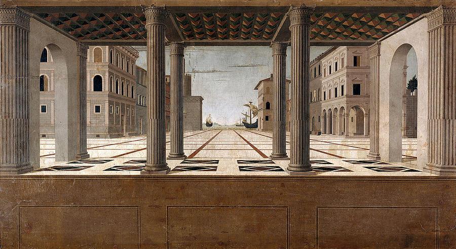 Attributed To Francesco Di Giorgio Martini Painting