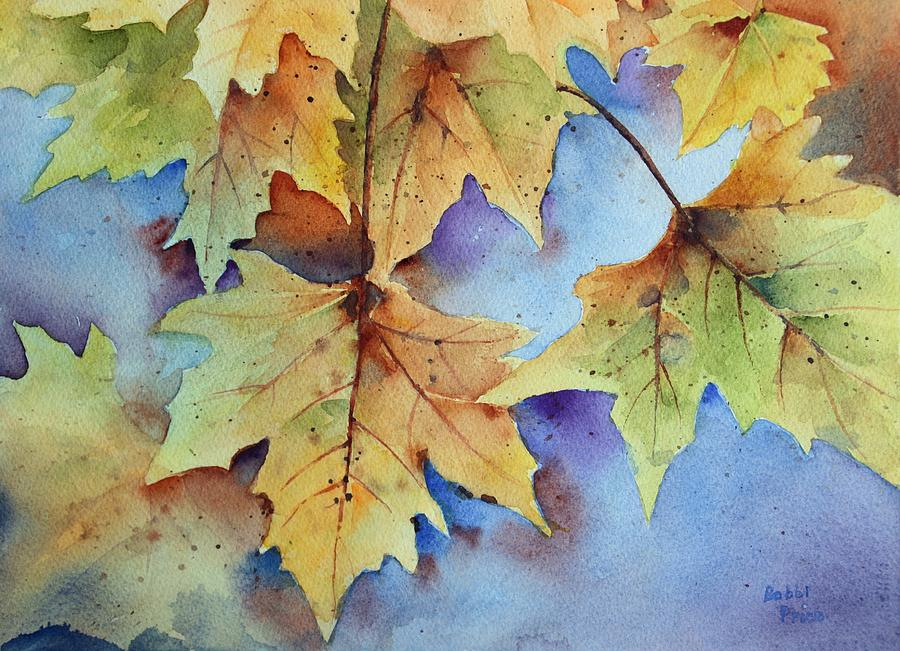 Watercolors Painting - Autumn Splendor by Bobbi Price